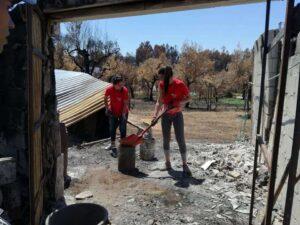 caritas vitimas dos incêndios