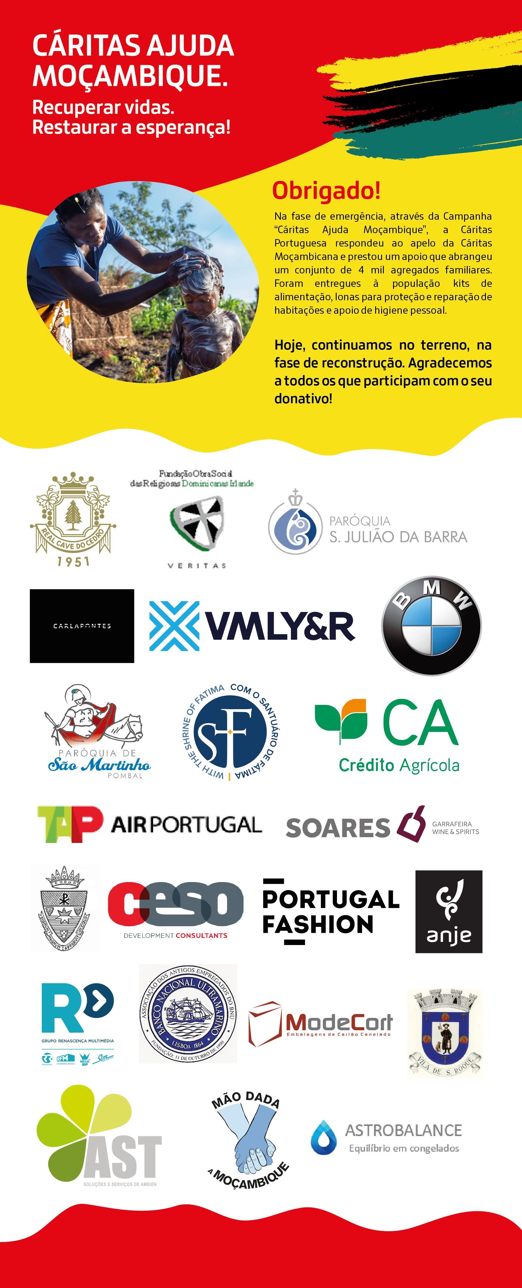 caritas ajuda moçambique agradecimento_empresas doadoras